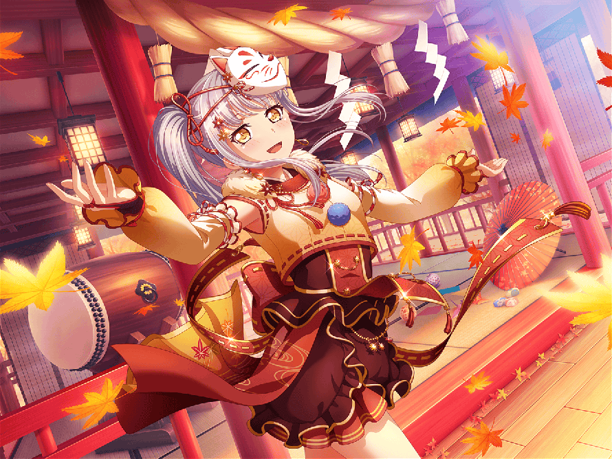 First Happy 3 star Yukina that's the event card! Coming up! I'm super excited for this event.  I can...