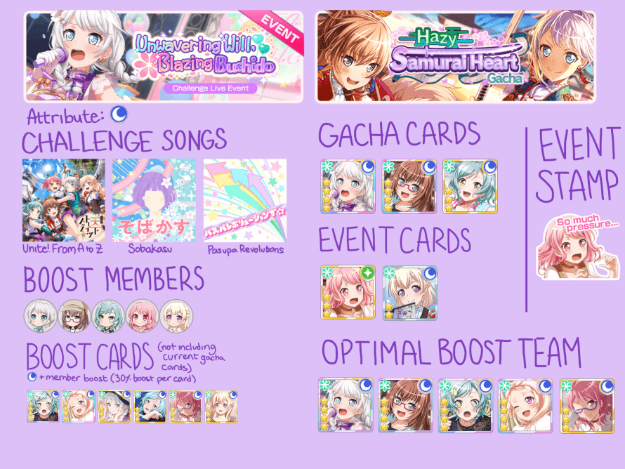 your guide to the next en event! hopefully this helps ? jdkskwkw this is my first time doing one...