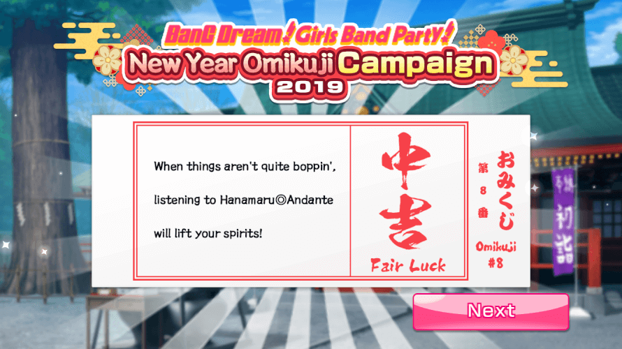 Too late bandori,I've already been doing that
