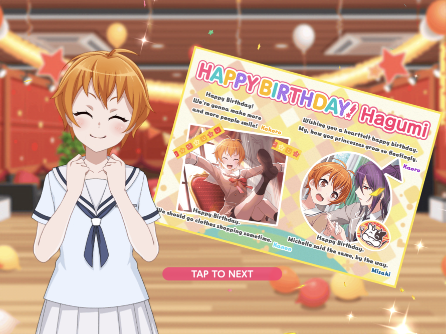 Happy  Late  Birthday, Hagumi Kitazawa  Bassist of Hello, Happy World! !