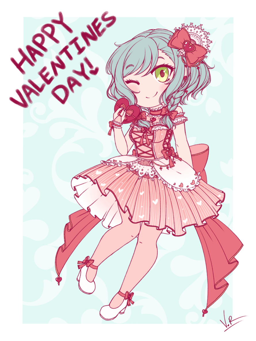 I know it's almost over but happy Valentine's Day! Spent the last couple of hours on this Hina cuz I...