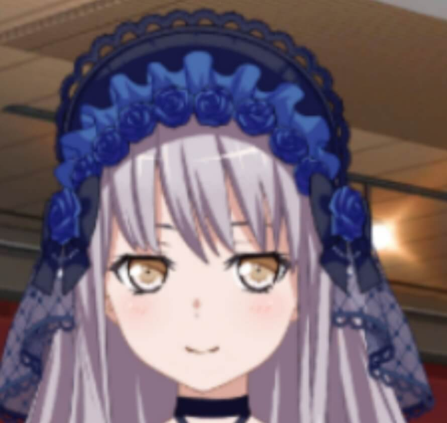 here's a picture of a rare smiling yukina. have a good day.
