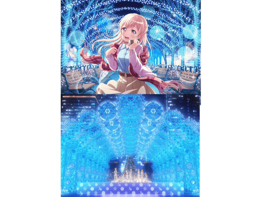 For some reason the new Chisato card really reminds me of Snow Halation. Is it just me??