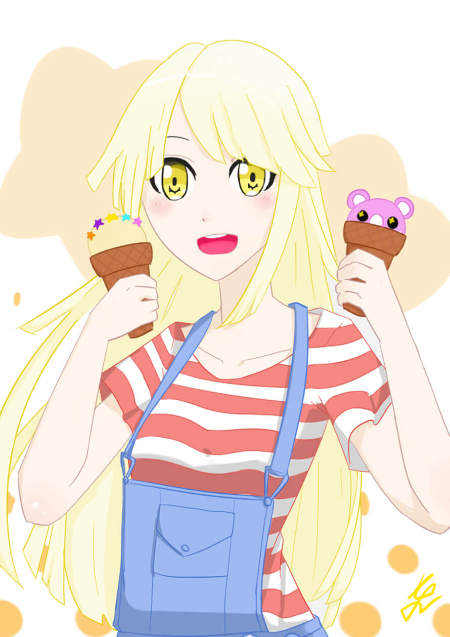 Tsurumaki's family can make/buy everything. So it just a Michelle ice cream, why they can't do it,...