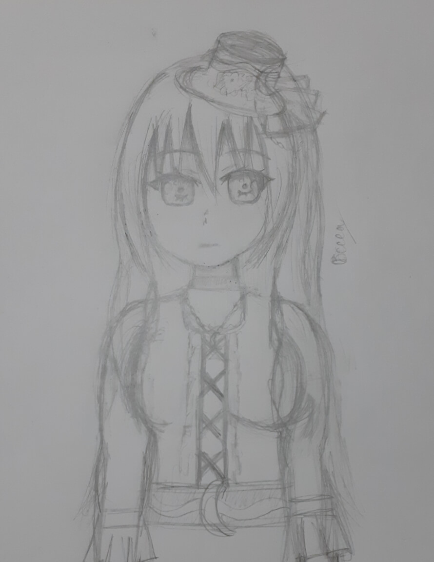 This drawing took about an hour to do, I also got the idea from the roselia Symphony gear event  I...