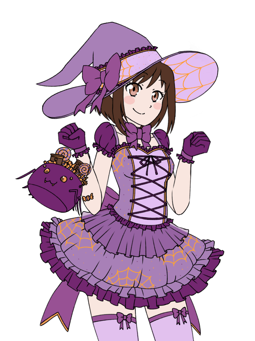 Here, take this spider witch Tsugumi!