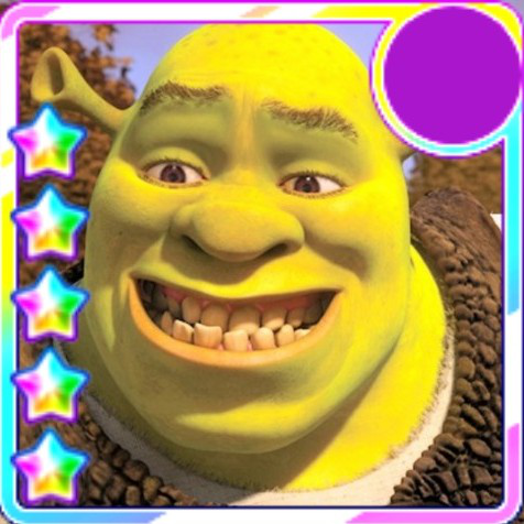Using Chomama's beautiful 5 star templates, I have made an icon for a 5 star shrek because we all...