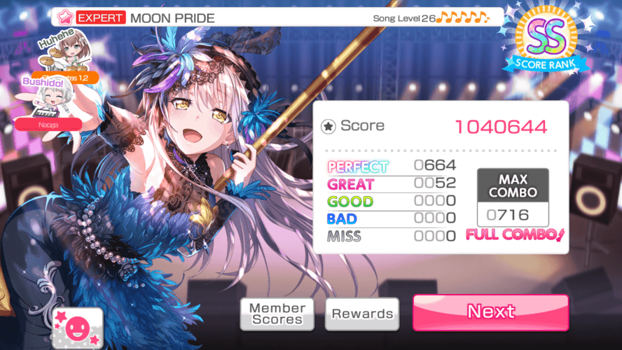 i yeeted my fingers away and fc'd MOON PRIDE on EN finally
