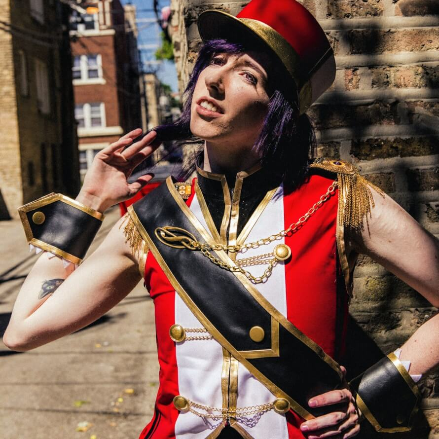 hello, kittens ;^ I'm Kieran and I cosplayed Kaoru at Anime Midwest a couple months back! She's...