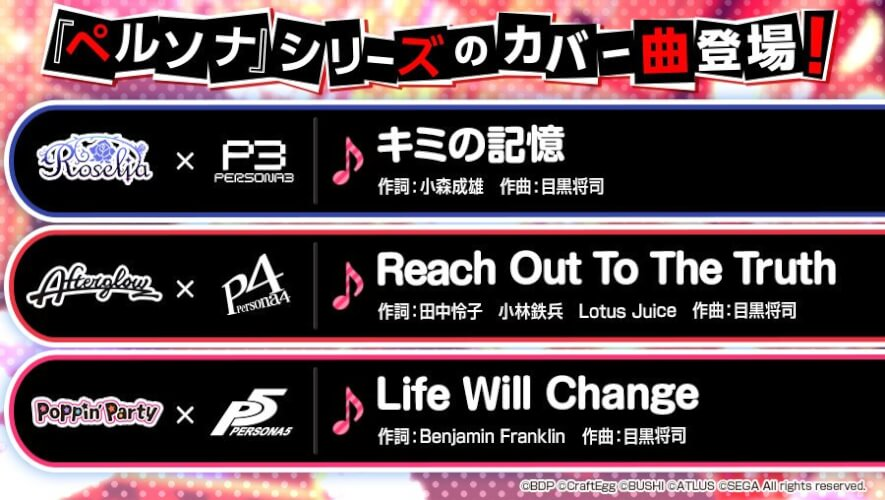 i thought afterglow was doing persona 5?? i feel so sad and dejected, at least roselia is doing p3