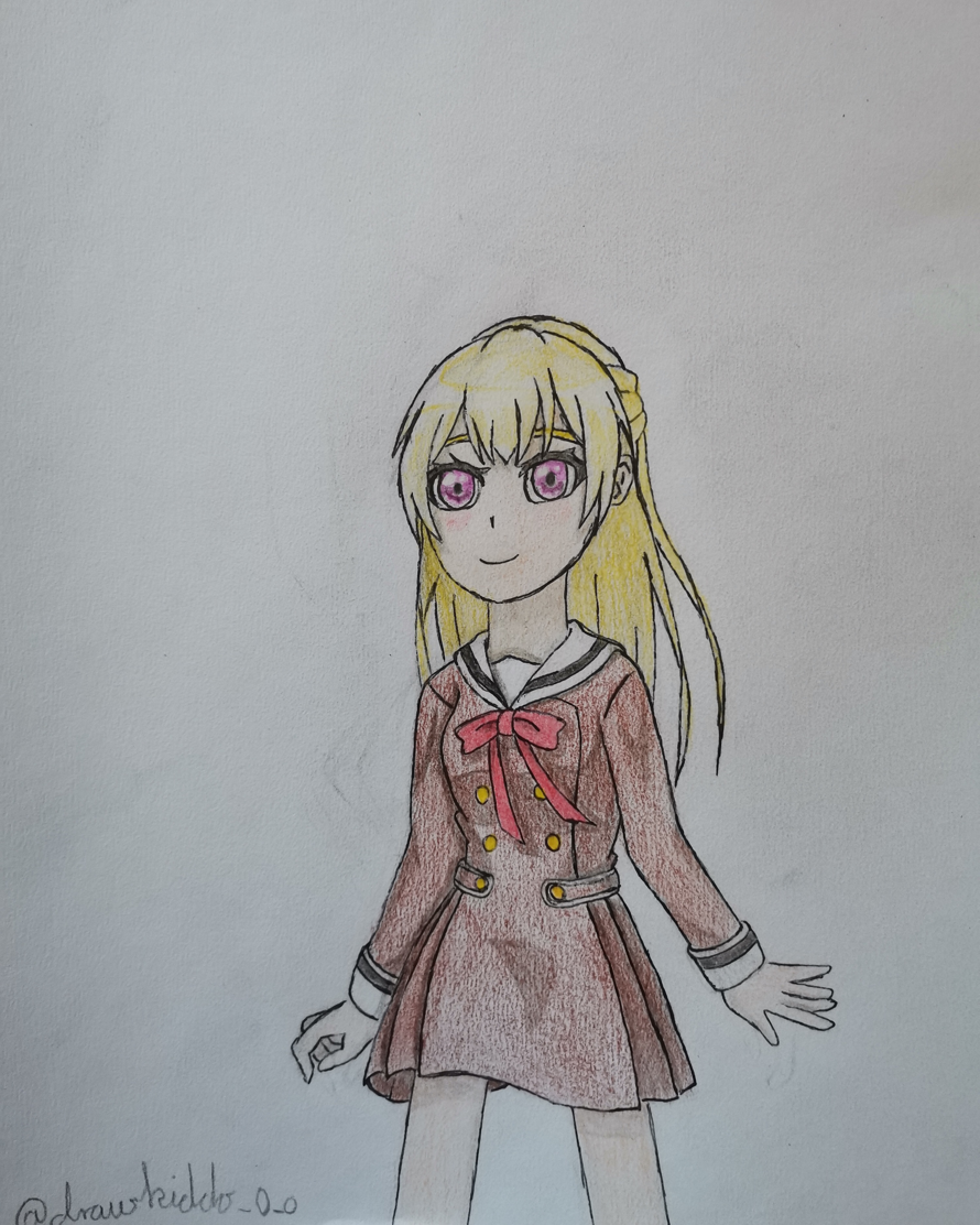I forgot to post this. I drew Chisato since it was her birthday yesterday! Happy birthday Chisato!
