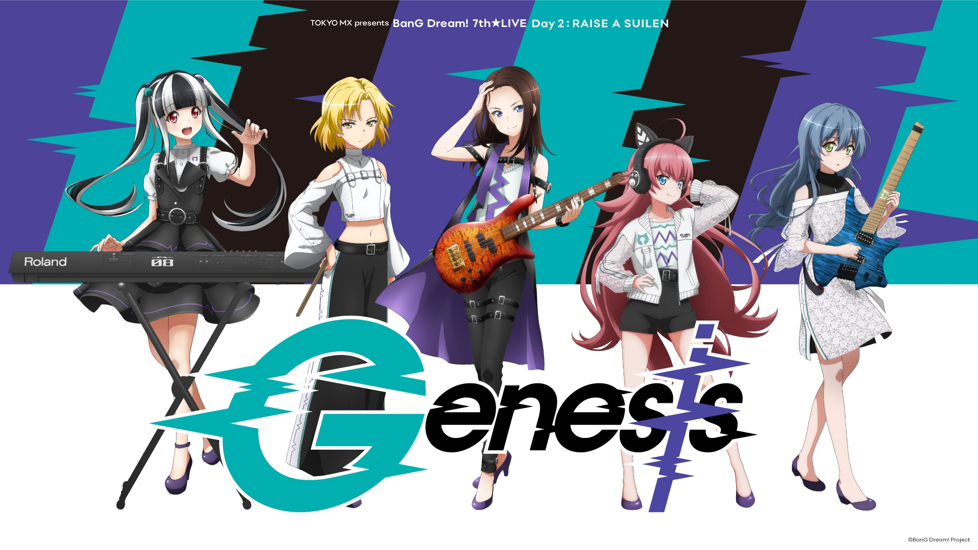 BanG Dream! Ultimate Live Theater - 7th Live: Genesis by RAISE A SUILEN