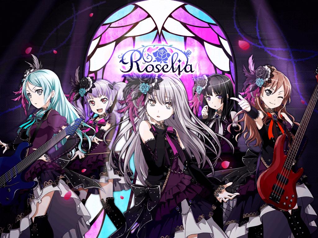 Roselia | Official art list | BanG Dream! | Bandori Party ...