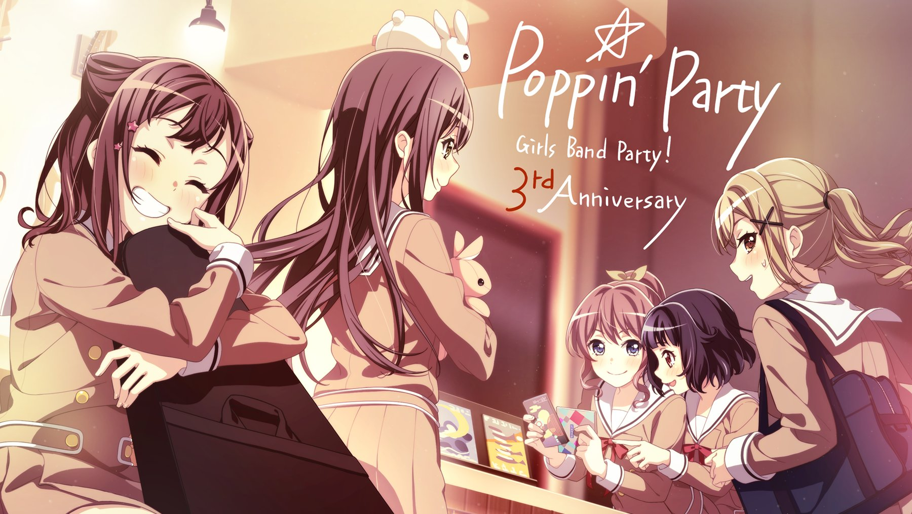 Poppin'Party Countdown