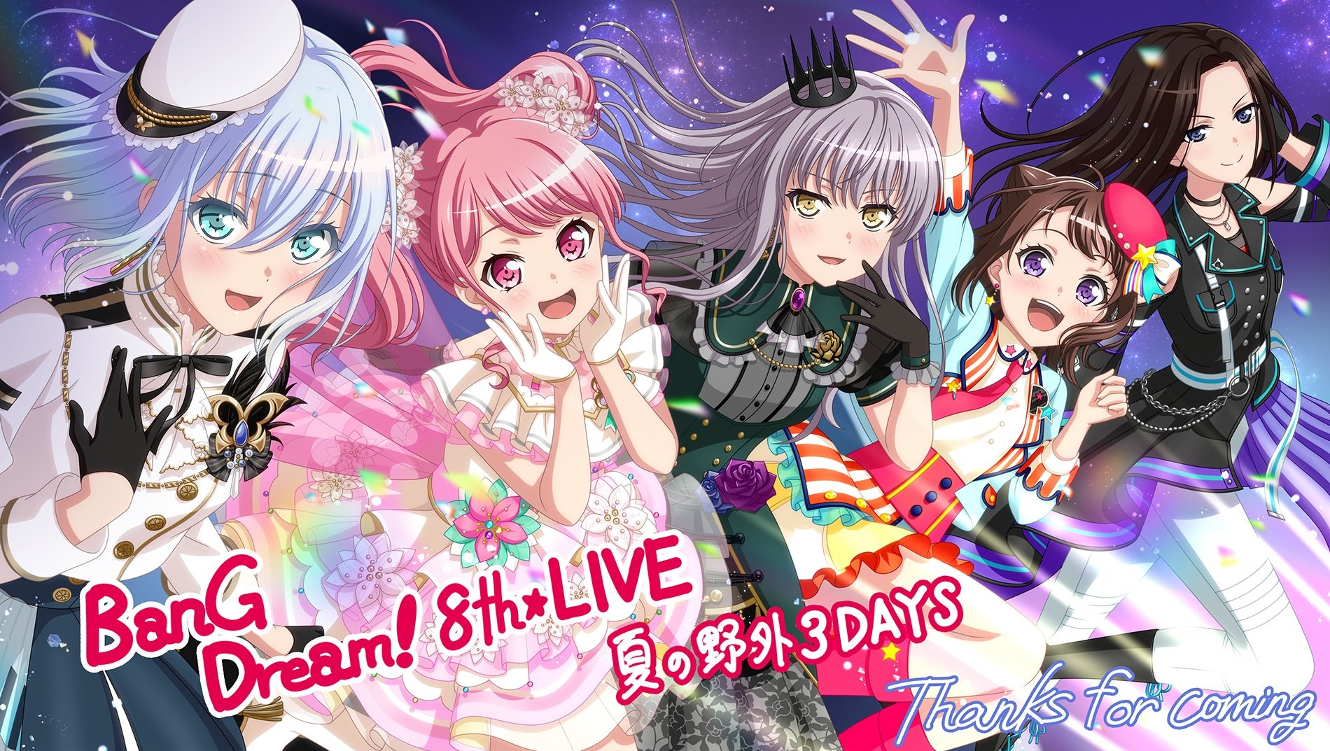 Bandori 8th Live! Thank you