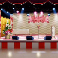 New Year's Variety Show Stage