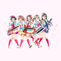 Poppin'Party Group Visual