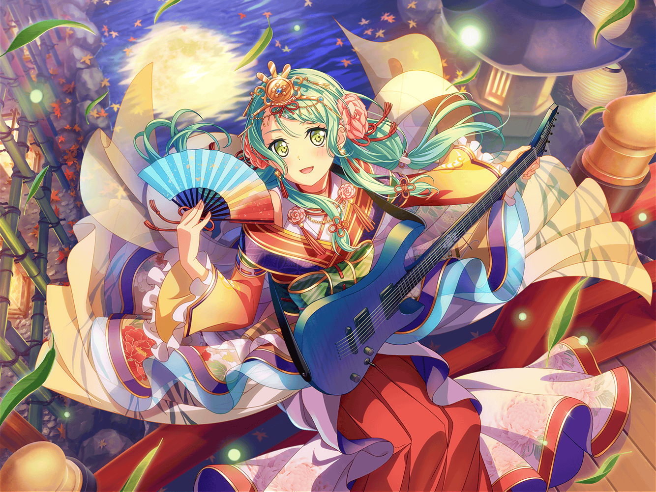 Girls Band Party          /              Cards list          /                            ★★★★ Sayo Hikawa - Pure - Imposing Composer