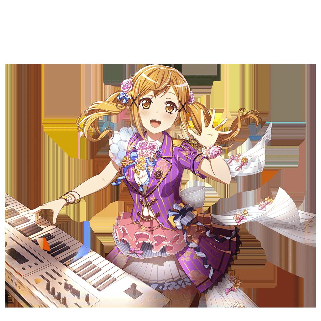 Arisa Ichigaya - Cool - Cute Friends - Card   Bandori ...