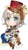 ★★★★ Moca Aoba - Cool - Let's Play Together - Chibi