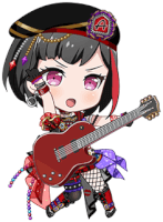 Ran Mitake - Awakened Antagonized Heart - Chibi