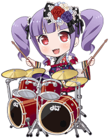 Ako Udagawa - Another Burning Year! - Chibi