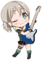 Moca Aoba - Absolutely Off-Beat - Chibi