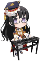 ★★★★ Rinko Shirokane - Happy - Dependable Student Council President - Chibi