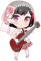 ★★ Ran Mitake - Power - Bridesmaid - Chibi