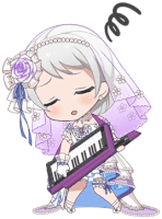 ★★★★ Eve Wakamiya - Power - Happiness Blooms From a Bride's Hand - Chibi
