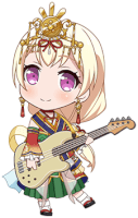 Chisato Shirasagi - Looking Up At The Sky - Chibi