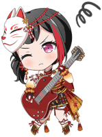 ★★★ Ran Mitake - Cool - Don't Point The Camera At Me! - Chibi