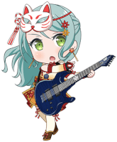 ★★ Sayo Hikawa - Cool - Fall-Colored Fox - Chibi
