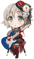 Moca Aoba - Always By Your Side - Chibi