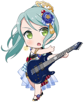 ★★ Sayo Hikawa - Happy - The Dancer of Your Dreams - Chibi