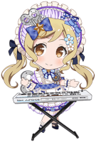 ★★ Arisa Ichigaya - Power - Mechanical Porcelain Doll - Chibi