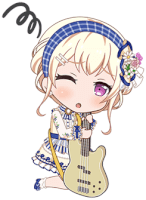 ★★ Chisato Shirasagi - Happy - Country Flower - Chibi