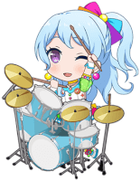 ★★ Kanon Matsubara - Cool - Smiley Planet - Chibi