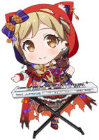 ★★★★ Arisa Ichigaya - Power - Red Riding Hood In Front - Chibi