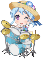Kanon Matsubara - Chattering Under the Stardust - Chibi