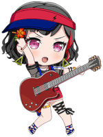 ★★★ Ran Mitake - Power - Embarrassed Lady - Chibi