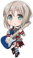 ★★★ Moca Aoba - Cool - Looking For Answers - Chibi