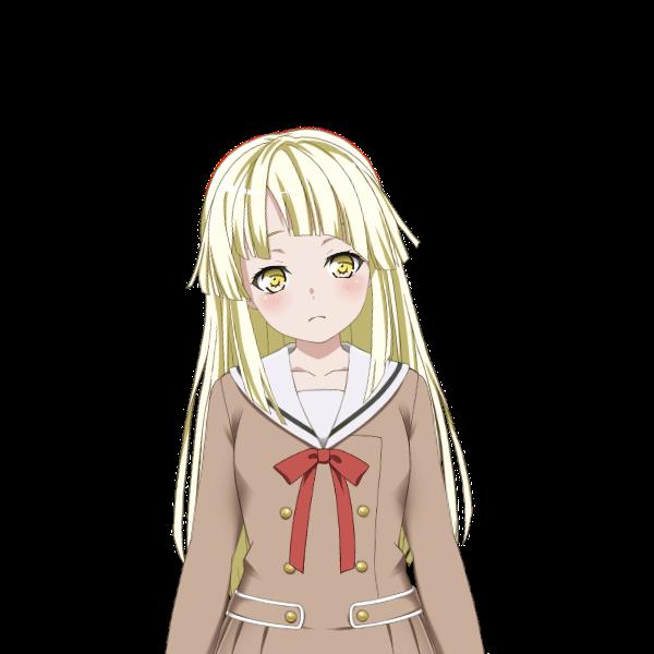 kokoro tsurumaki - winter uniform