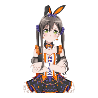 ★★ Tae Hanazono - Power - Halloween Rabbit preview