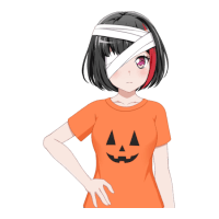 Ran Mitake - Halloween Helper