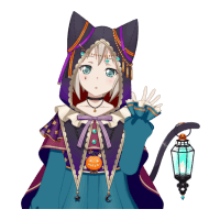 Moca Aoba - Guiding Black Cat