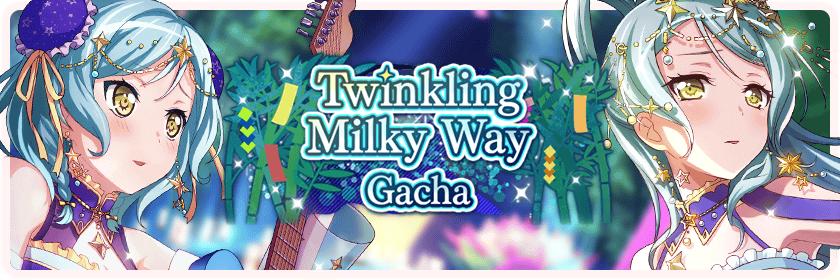 Twinkling Milky Way