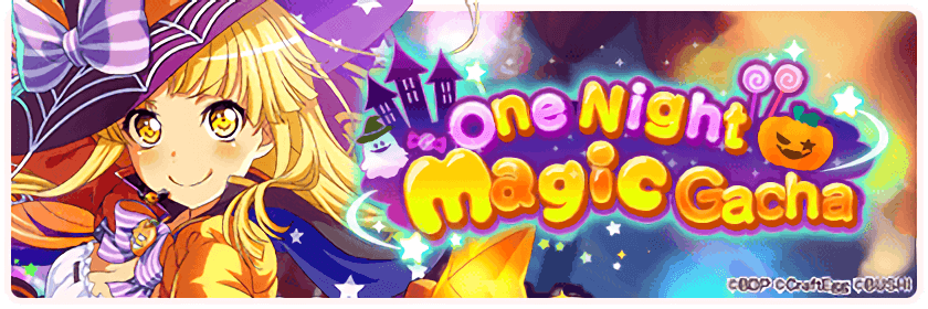 One Night Magic Gacha