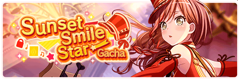 Sunset Smile Star Gacha