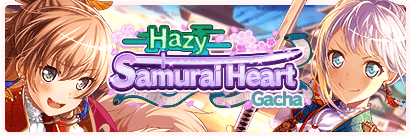 Samurai Hearts for Troubled Times Gacha